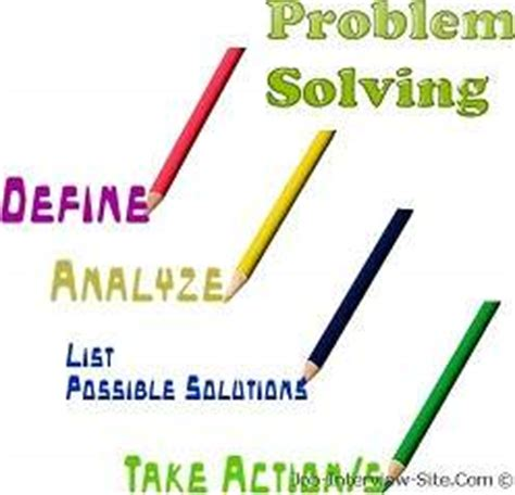Lesson Problem Solving and Critical Thinking